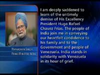 News video: PM condoles demise of Venezuelan President Chavez